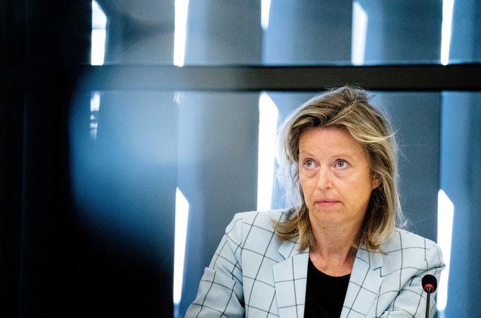 Minister Kajsa Ollongren (Binnenlandse Zaken).