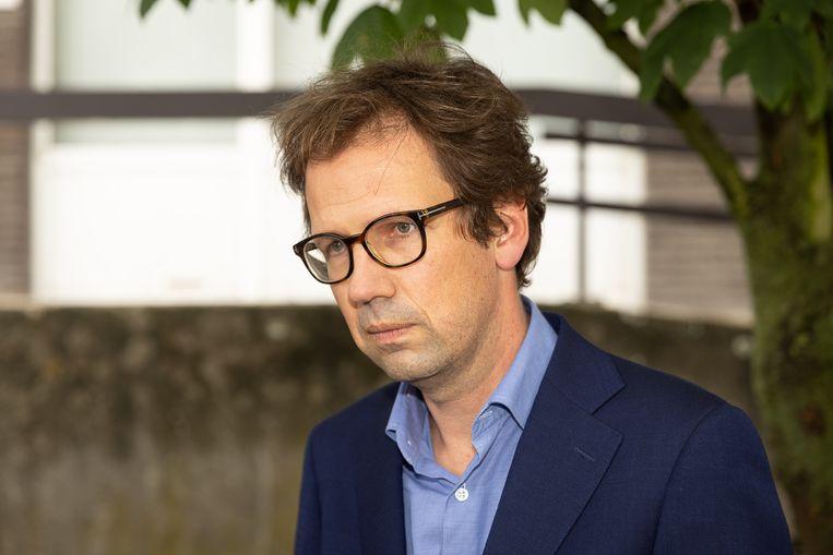 Advocaat Joris Van Cauter. Beeld BELGA