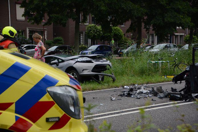 Ongeval Sportlaan Puttershoek