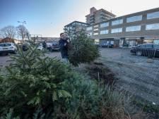 Bijna 16.000 kilo aan kerstbomen opgehaald