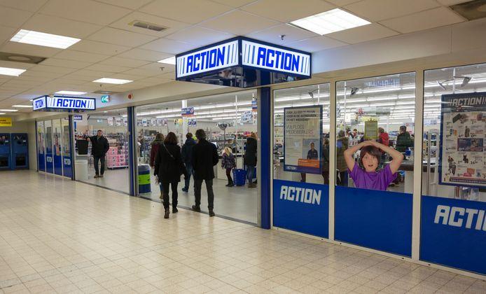 Archieffoto ter illustratie van een Actionwinkel.