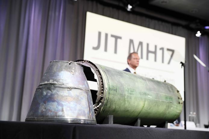 Persconferentie van het JIT-team, eerder dit jaar.