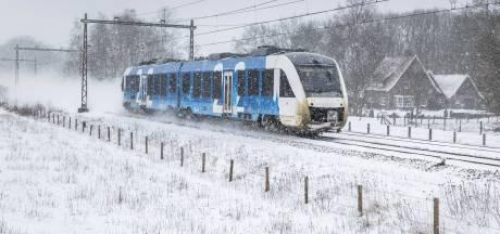 Bussen en treinen in Twente en de Achterhoek rijden volgens dienstregeling