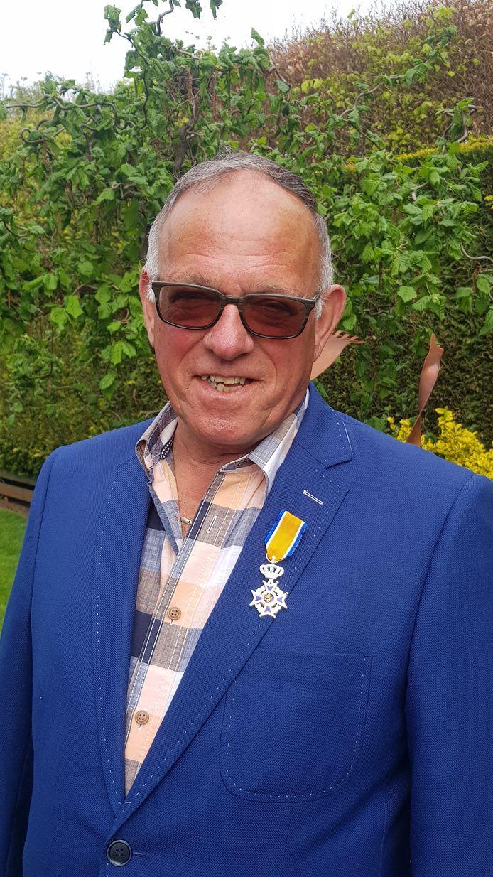 Jos van den Broek benoemd tot Lid in de Orde van Oranje-Nassau.