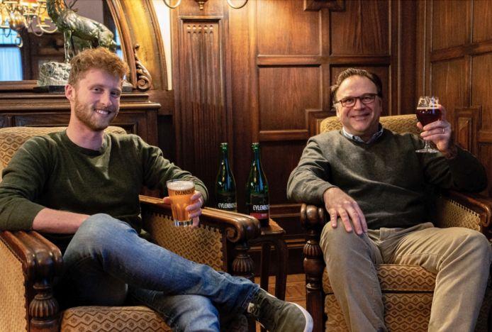 Brouwer Klaas Vanderpoorten en Erik De Keersmaeker.