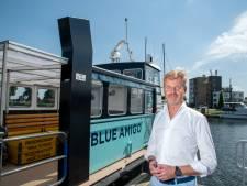 Watertaxi wordt attractie tussen Harderwijk en Zeewolde; fietsers beleven Flevoland en Veluwe vanaf het Wolderwijd