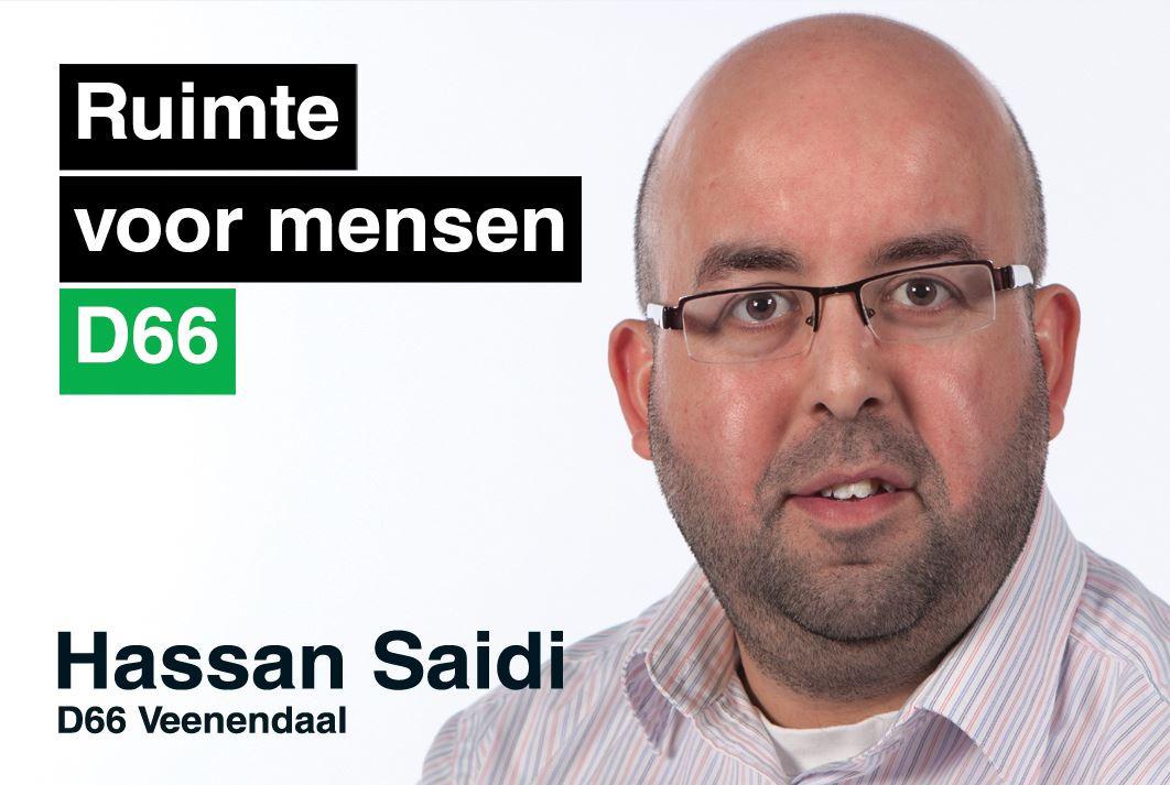 Raadslid Hassan Saidi doet het hijsen van een regenboogvlag af als symboolpolitiek.