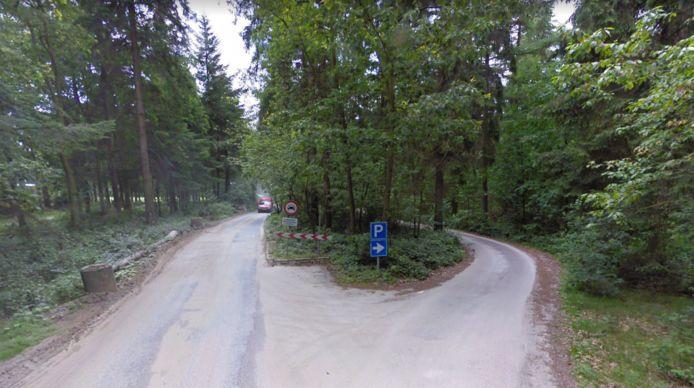 De oude weg naar de parkeerplaats bij Gasselterveld.