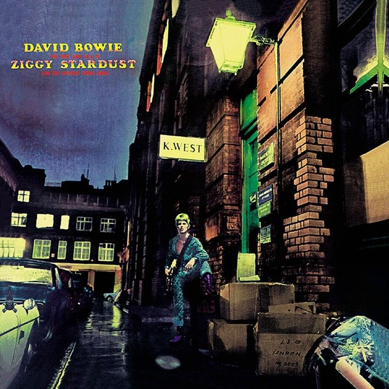 The Rise and Fall of Ziggy Stardust en The Spiders from Mars. Beeld rv