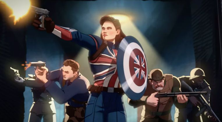 Marvel's 'What If...?'. Beeld Disney
