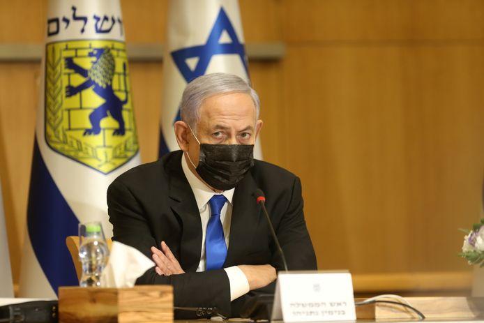 Archiefbeeld Benjamin Netanyahu