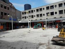 Het is behelpen in het opgebroken centrum van Wijchen