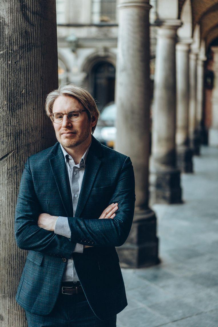 Eric C. Hendriks: 'Misschien zijn populisten de echte democraten, omdat ze zich verzetten tegen de Europese technocratie, waar de burger geen greep op heeft.' Beeld Thomas Sweertvaegher