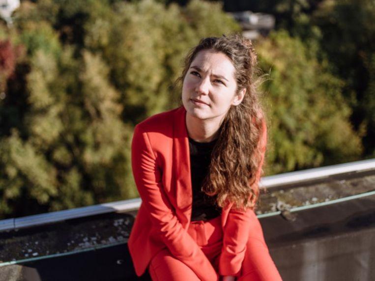 Angélique Van Ombergen. Beeld Kevin Faingnaert