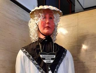 Blankenbergse reus Mascotte krijgt nieuwe kledij