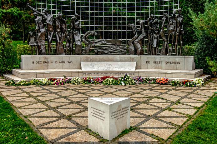 In de Scheveningse Bosjes staat het Indisch monument ter nagedachtenis aan alle Nederlandse burgers en militairen die in de Tweede Wereldoorlog het slachtoffer zijn geworden van de bezetting van Japan.