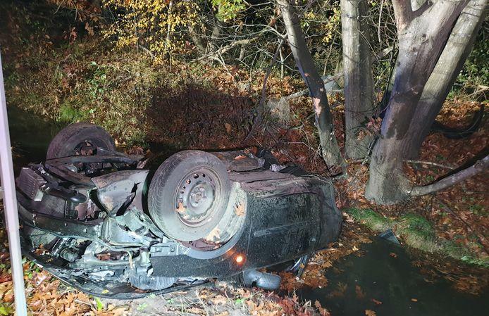 De bestuurder kwam bij het ongeval op de Geelsebaan om het leven.