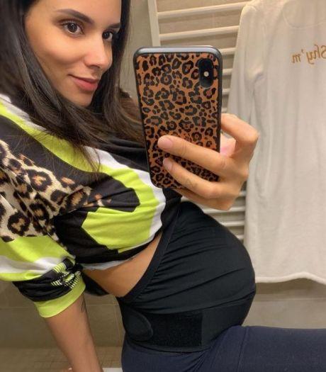 Shy'm dévoile le nombre de kilos qu'elle a pris depuis le début de sa grossesse