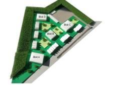 De bouw van 150 tijdelijke woningen in Nuenen-West loopt vertraging op, want het plan is te duur