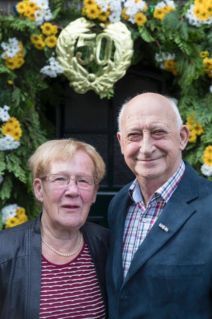 Nelly van Grinsven-Danklof en Jan van Grinsven.