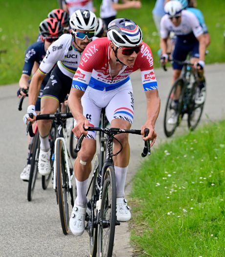 Mathieu van der Poel gagne encore sur le Tour de Suisse et s'empare du maillot jaune