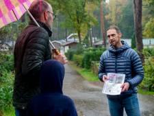 Vakantie op de Veluwe eindigt voor Robbert en Daphne op verdrietige wijze: Balthazar verdwijnt spoorloos bij vertrek