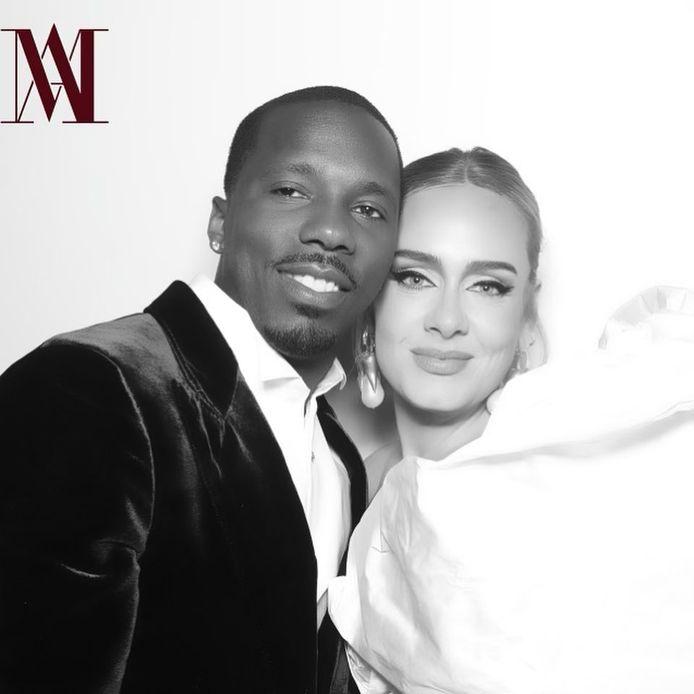 Adele en haar vriend Rich Paul