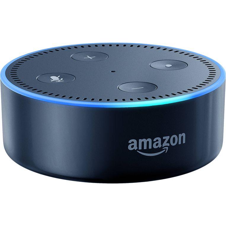 De Echo Dot, Amazons toegang tot het Alexa-systeem. Beeld Amazon