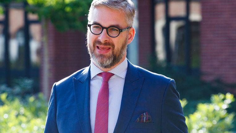 Sidney Smeets, de advocaat van Evert de Clercq. Beeld BELGA