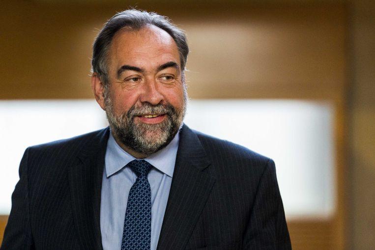 Archiefbeeld van Marc Descheemaecker (N-VA), voorzitter van de raad van bestuur bij De Lijn. Beeld ANP