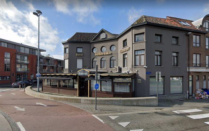 Hotel Gulden Anker in Mechelen.