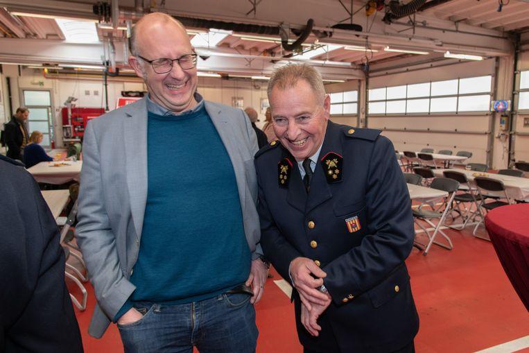 Brandweercommandant Luc Van Hoof gaat met pensioen.