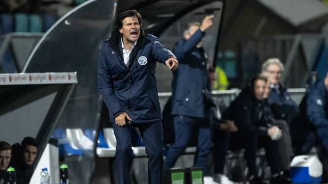 """Als vervanger van Jack de Gier handhaaft William van Overbeek zijn ongeslagen status in het profvoetbal: ,,Maar we doen het met z'n allen"""""""