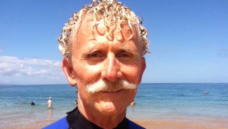Rick Moore, de leraar uit Californië die het slachtoffer vorige week uit het water haalde. Beeld ap