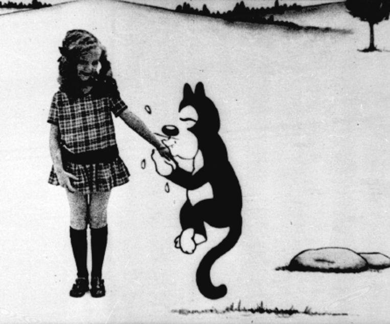Een beeld uit 'Alice in Cartoonland'. (Trouw) Beeld