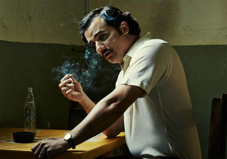 'Narcos' is een schoolvoorbeeld van een internationale serie. Beeld Netflix