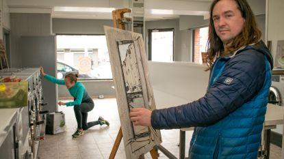 """Kunstenaar palmt week lang wassalon in: """"Laat me inspireren door de mooie levensverhalen"""""""