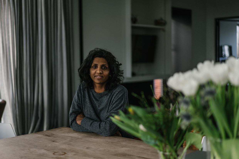 Babitha Degroote liet haar levensverhaal recent optekenen in het boek '#HetGevoelGeadopteerd'. Beeld Wouter Van Vooren