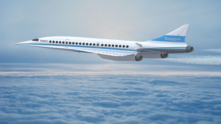 De Boom Supersonic zou in 2025 in de lucht moeten hangen.