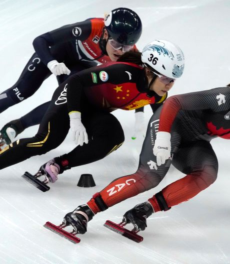 Shorttrackster Velzeboer grijpt net naast medaille in  Peking