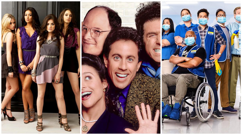 'Pretty Little Liars' (verdwijnt), 'Seinfeld' en 'Superstore' (nieuw) Beeld Netflix