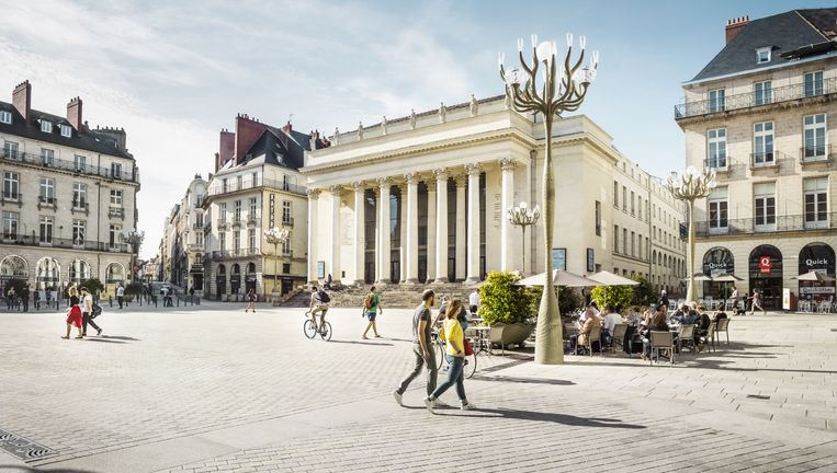 Place Graslin in Nantes. Beeld Franck Tomps