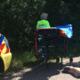 Blaricumse vrouw breekt rug door aanrijding met wielrenster: 'Ze fietste gewoon door'