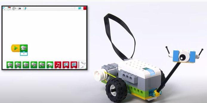 Ook Lego helpt om kinderen te leren programmeren.