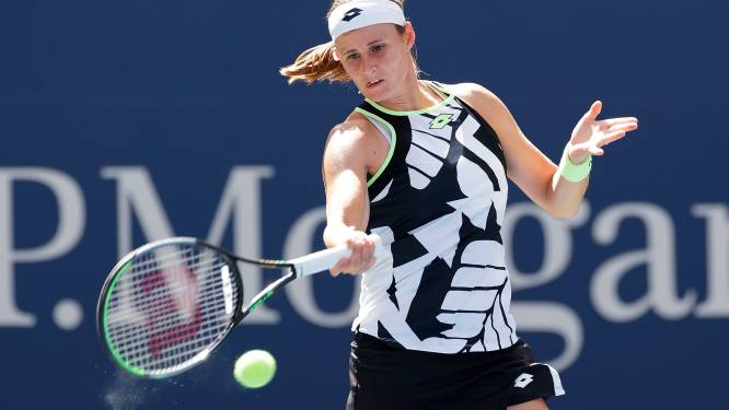 """Greet Minnen voor het eerst in WTA top-100: """"Dat blijft een magische grens"""""""