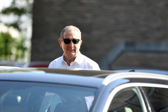 Ook Georges Leekens werd uitgenodigd voor een verhoor bij de Federale Gerechtelijke Politie in Hasselt.
