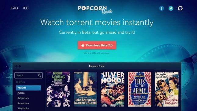 Un immense catalogue de films, disponibles en 15 secondes et dans toutes les langues. Voici Popcorn Time.