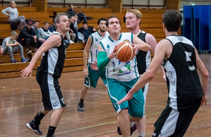 De basketballers van Akros op archiefbeeld.