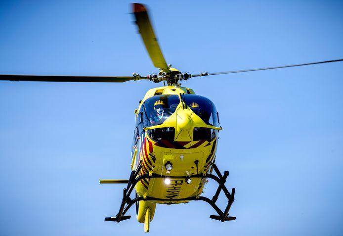 Een traumahelikopter, foto ter illustratie