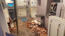 Grote schade in KBC-bankkantoor Kortemark nadat dronken én gedrogeerde bestuurder tegen gevel knalt